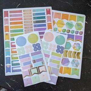 Erin Condren | Assorted planner calendar stickers